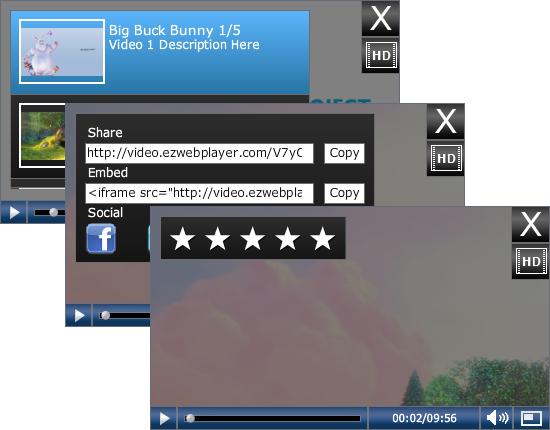 Player Sidebar Options